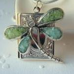 Dragonfly Locket, Book Loc..